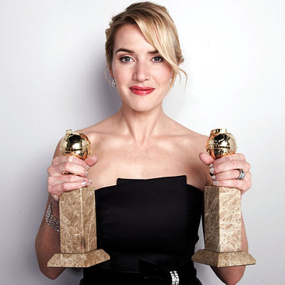 Kate Winslet 2009 Golden Globes