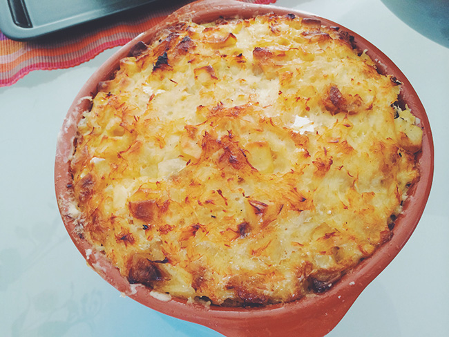 Bacalhau com Nata Marias Place Marias Place   Portuguese Specialties