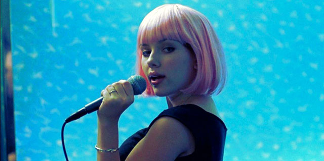 Scarlett Johansson in Lost in Translation karaoke scene